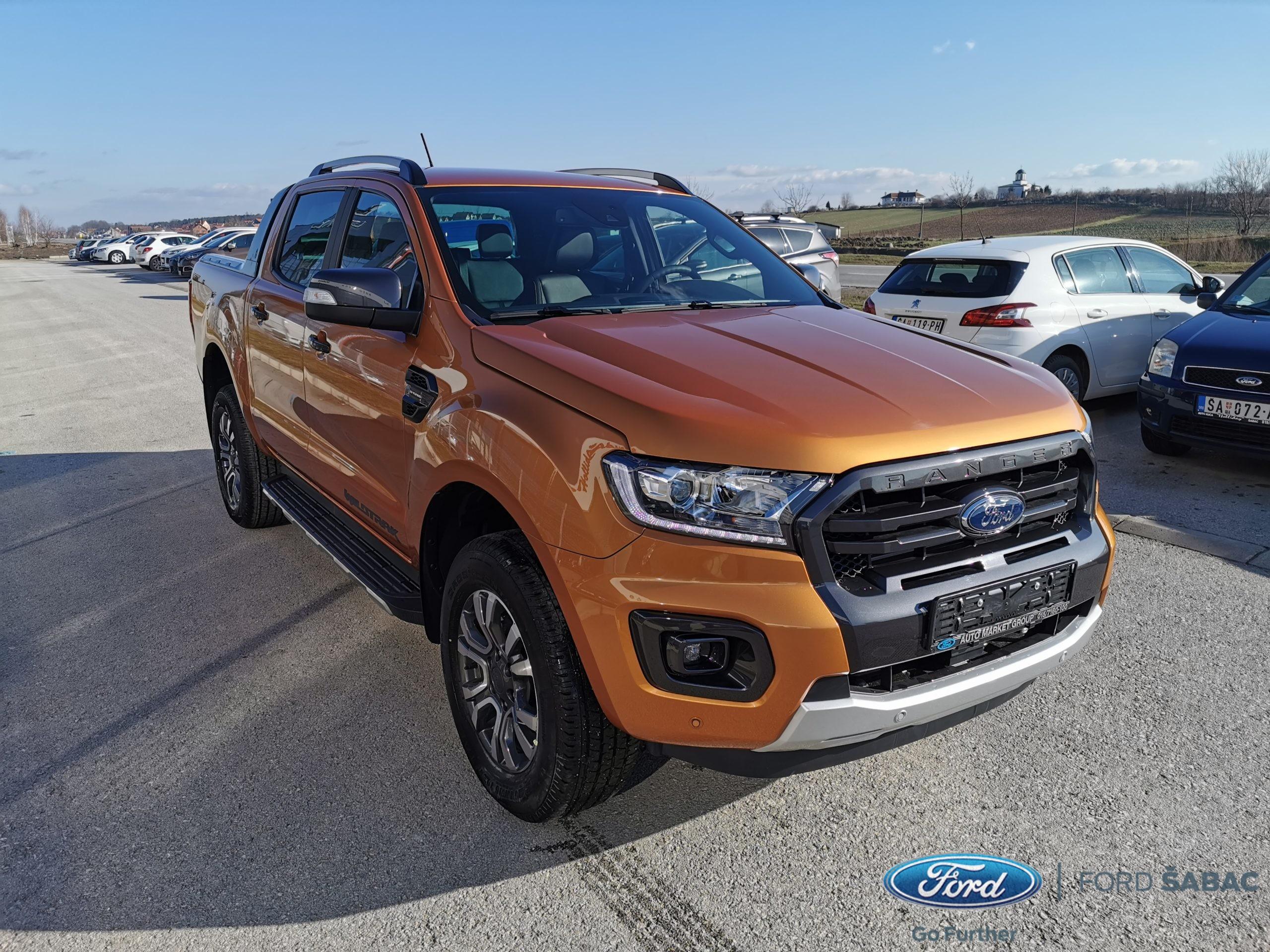 Ford Ranger Wildtrak Restyle BiT